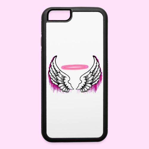 angel wings logo - iPhone 6/6s Rubber Case