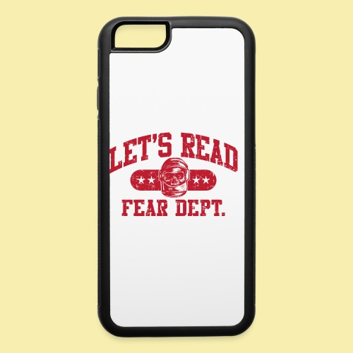 Athletic - Fear Dept. - RED - iPhone 6/6s Rubber Case