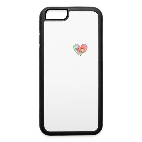 2 sassy 4 u - iPhone 6/6s Rubber Case