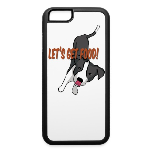 Foodie Dog Border Collie - iPhone 6/6s Rubber Case