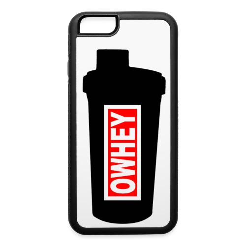 OWHEY Protein Shaker - iPhone 6/6s Rubber Case