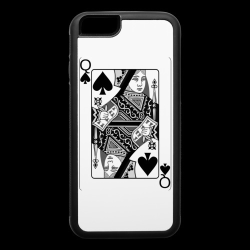 Queen of Spades - iPhone 6/6s Rubber Case