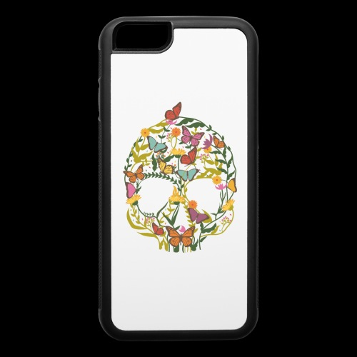Botanical Skull - iPhone 6/6s Rubber Case