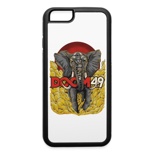 Yellow Smoke Elephant by DooM49 - iPhone 6/6s Rubber Case