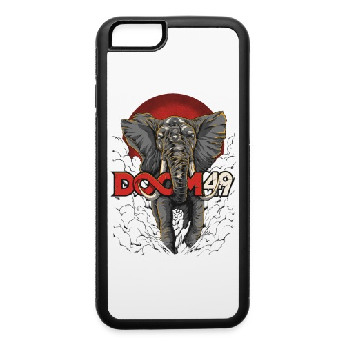 Clear Smoke Elephant by DooM49 - iPhone 6/6s Rubber Case