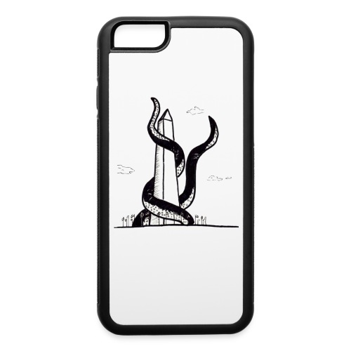 Tentacles on the Washington Monument - iPhone 6/6s Rubber Case