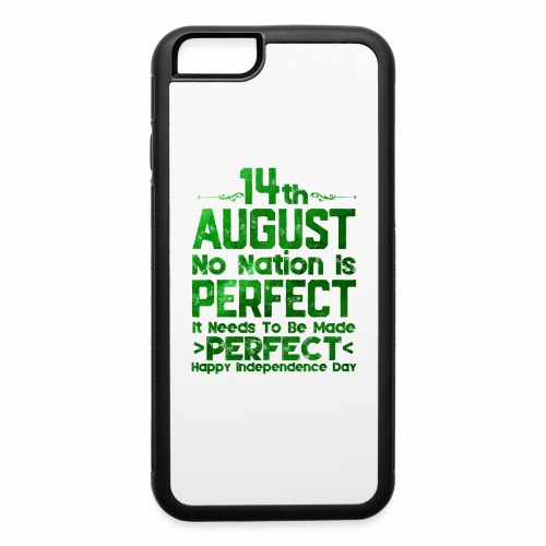 14th August Independence Day - iPhone 6/6s Rubber Case