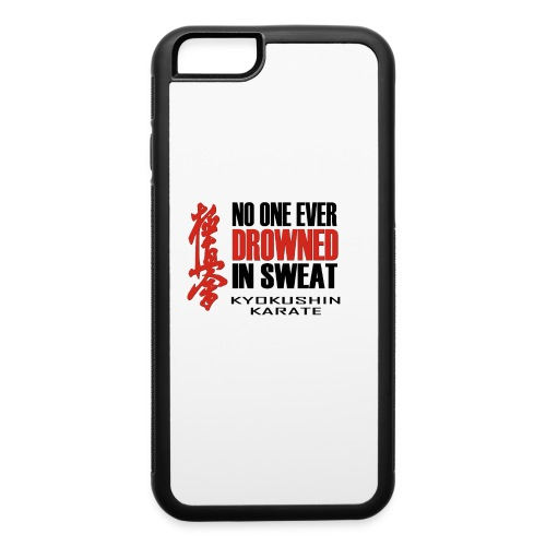 No One Ever - Black&Red - iPhone 6/6s Rubber Case