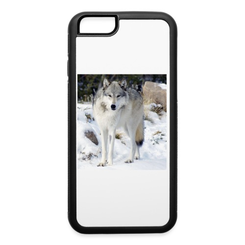Canis lupus occidentalis - iPhone 6/6s Rubber Case