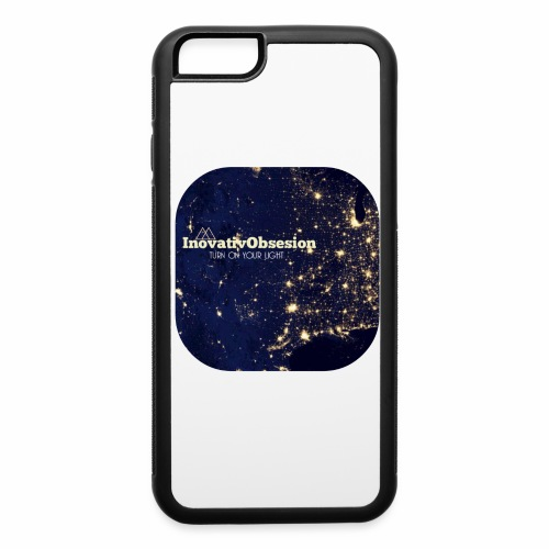 "InovativObsesion ""TURN ON YOU LIGHT"" Apparel - iPhone 6/6s Rubber Case"