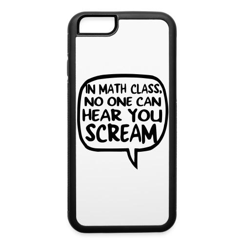 Math class scream - iPhone 6/6s Rubber Case