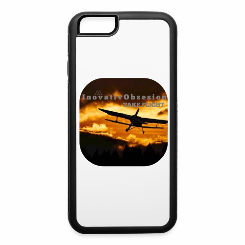 "InovativObsesion ""TAKE FLIGHT"" apparel - iPhone 6/6s Rubber Case"