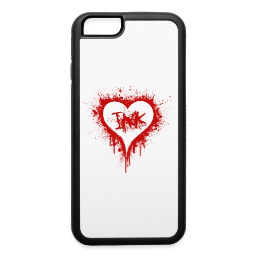 I Love Ink_red - iPhone 6/6s Rubber Case