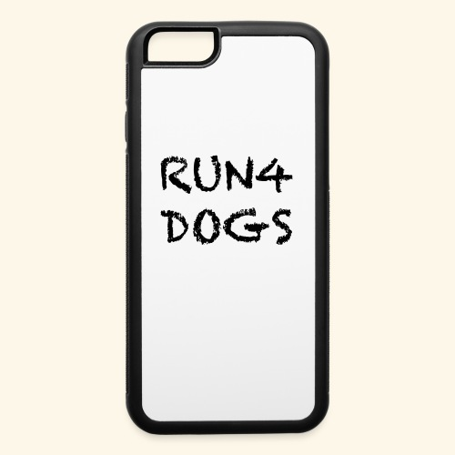RUN4DOGS NAME - iPhone 6/6s Rubber Case