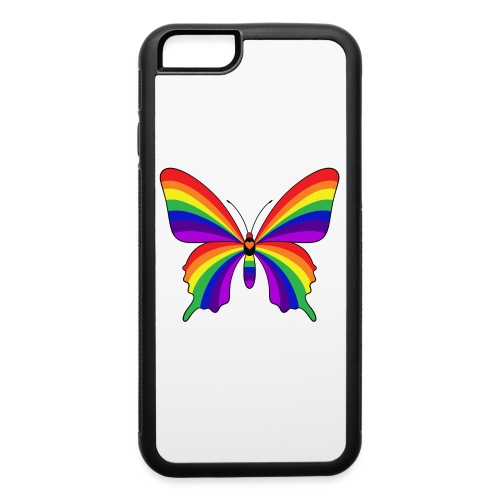 Rainbow Butterfly - iPhone 6/6s Rubber Case