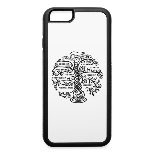 Yggdrasil - The World Tree - iPhone 6/6s Rubber Case