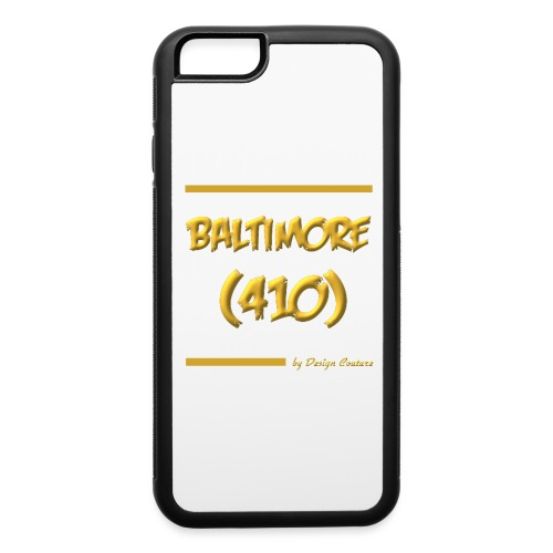 BALTIMORE 410 GOLD - iPhone 6/6s Rubber Case