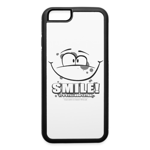 Smile - it's still non-lethal - iPhone 6/6s Rubber Case