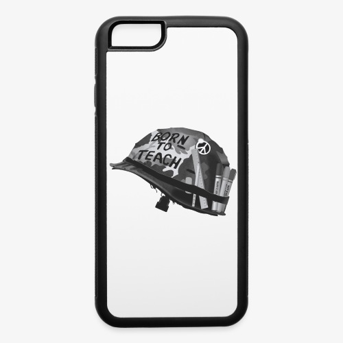 Born to teach B&W - iPhone 6/6s Rubber Case