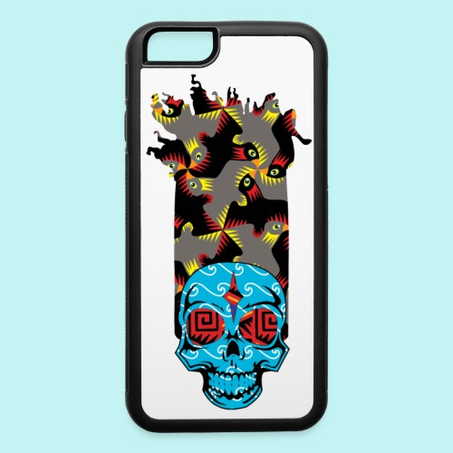 90s KID SKULLY - iPhone 6/6s Rubber Case