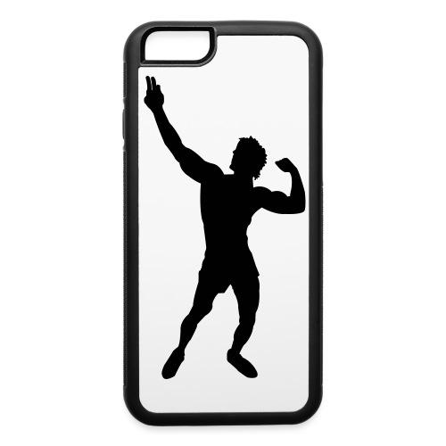 Zyzz Silhouette vector - iPhone 6/6s Rubber Case