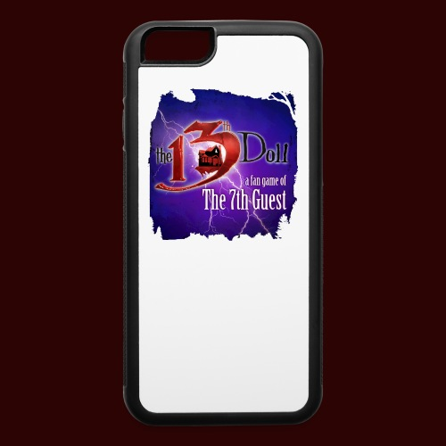 The 13th Doll Logo With Lightning - iPhone 6/6s Rubber Case