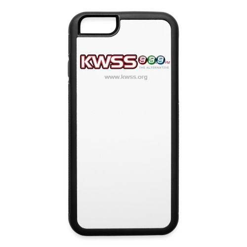 KWSS_939_W_WHT_the_alt - iPhone 6/6s Rubber Case