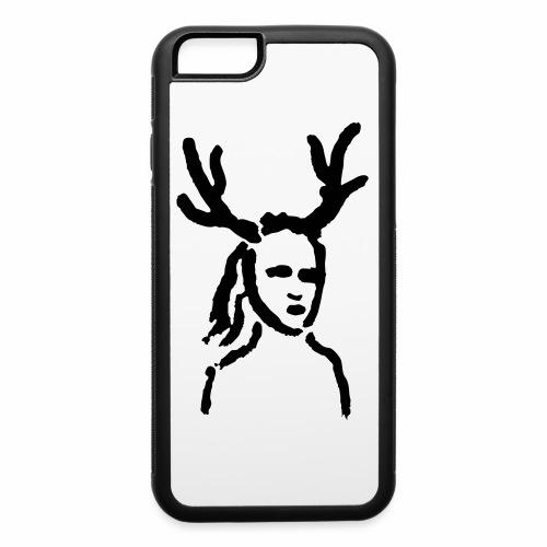 Antler Girl - iPhone 6/6s Rubber Case