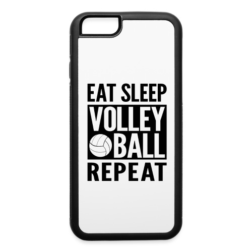 Eat Sleep Volleyball Repeat - iPhone 6/6s Rubber Case