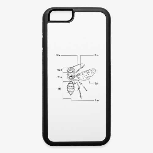 Bee - iPhone 6/6s Rubber Case