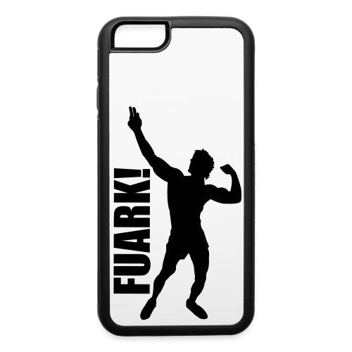 Zyzz Silhouette FUARK - iPhone 6/6s Rubber Case