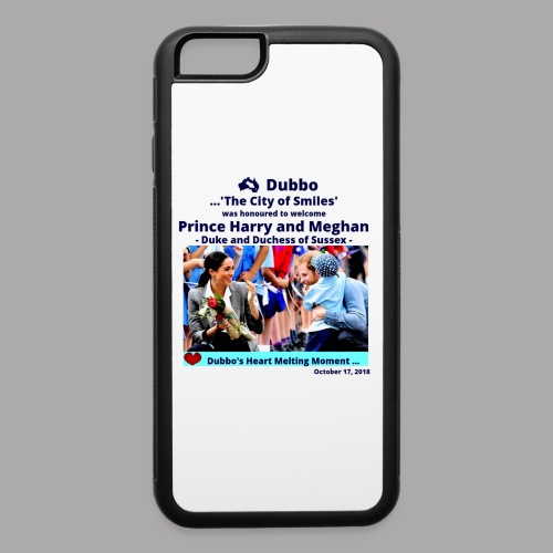 Prince Harry and Meghan Visit Dubbo - 17/10/2018 - iPhone 6/6s Rubber Case