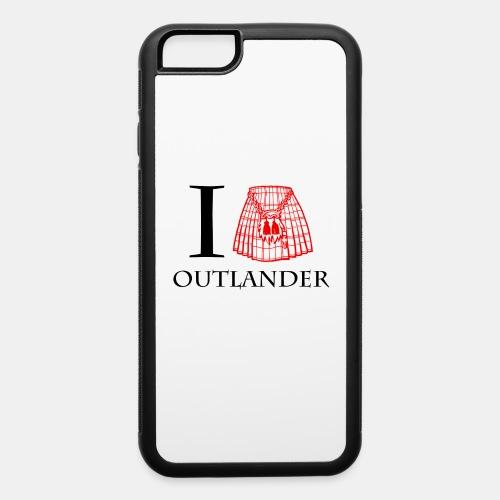I LOVE OUTLANDER KILT - iPhone 6/6s Rubber Case