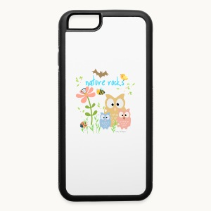 NATURE ROCKS CHILDREN Carolyn Sandstrom THR - iPhone 6/6s Rubber Case