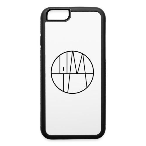 Lil M Logo 2 Black - iPhone 6/6s Rubber Case