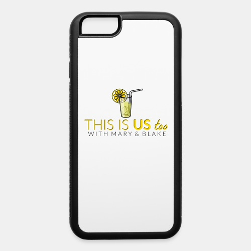 This Is us too logo - iPhone 6/6s Rubber Case
