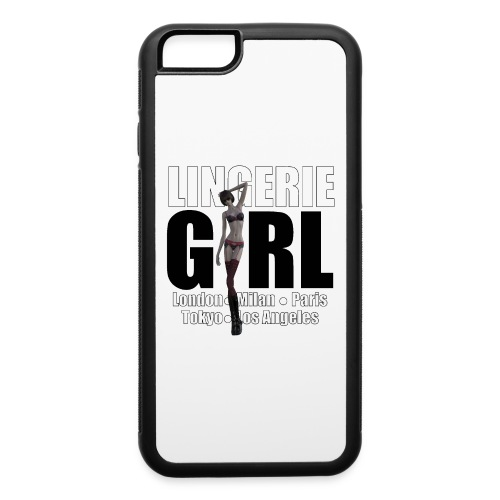 The Fashionable Woman - Lingerie Girl - iPhone 6/6s Rubber Case