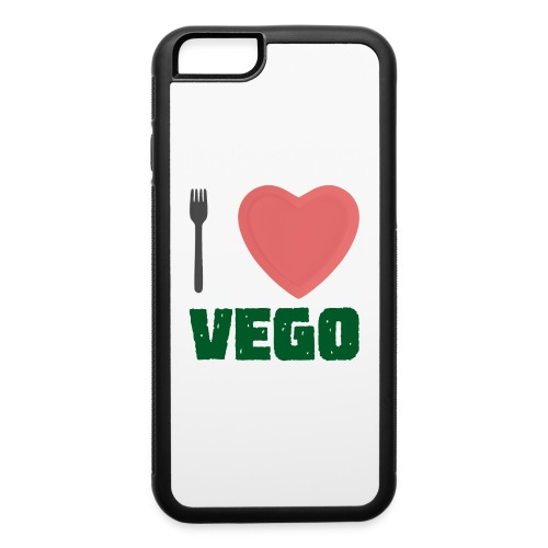 I love Vego - Clothes for vegetarians - iPhone 6/6s Rubber Case