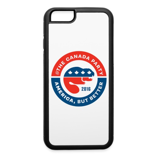 The Canada Party official campaign button - 2016 - iPhone 6/6s Rubber Case
