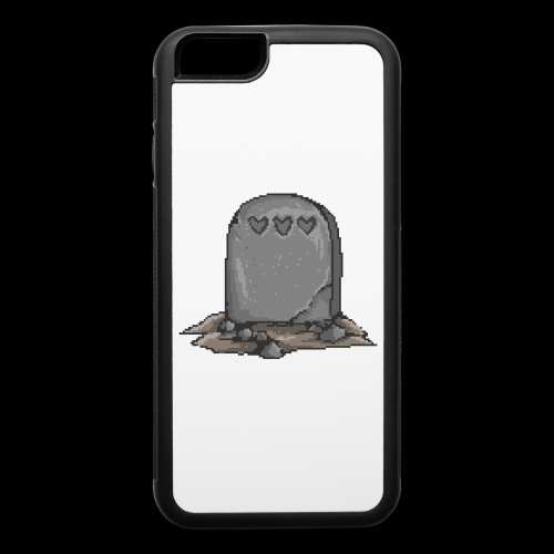 No Life Left | Funny Gamer Grave - iPhone 6/6s Rubber Case