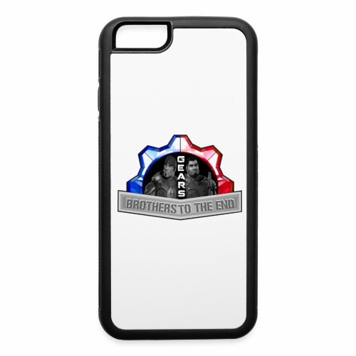 BROS TO THE END GEARS - iPhone 6/6s Rubber Case