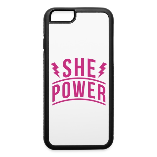 She Power - iPhone 6/6s Rubber Case