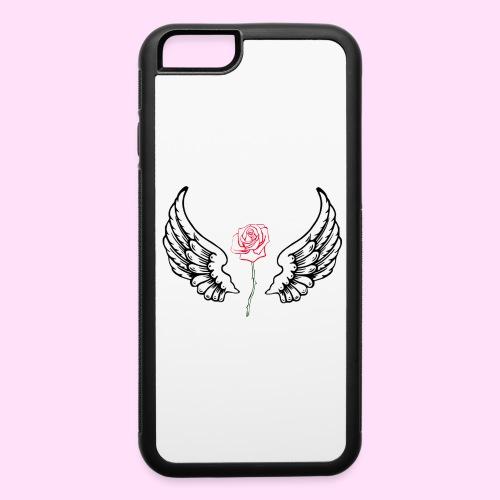 rose flight - iPhone 6/6s Rubber Case