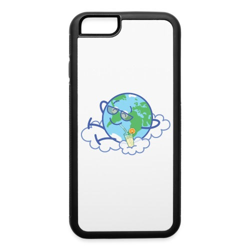 Mischievous Earth taking a well deserved break - iPhone 6/6s Rubber Case