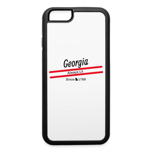 Georgia Always Lit - iPhone 6/6s Rubber Case