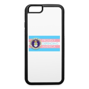 Transgender Air Force - iPhone 6/6s Rubber Case