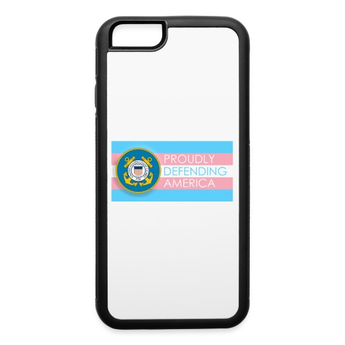 Transgender Coast Guard - iPhone 6/6s Rubber Case