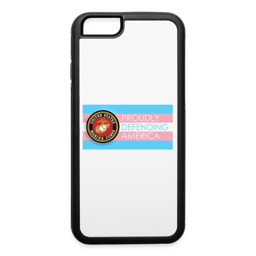 Transgender Marine - iPhone 6/6s Rubber Case