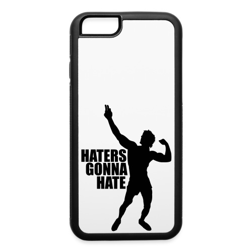 Zyzz Silhouette Haters Gonna Hate - iPhone 6/6s Rubber Case