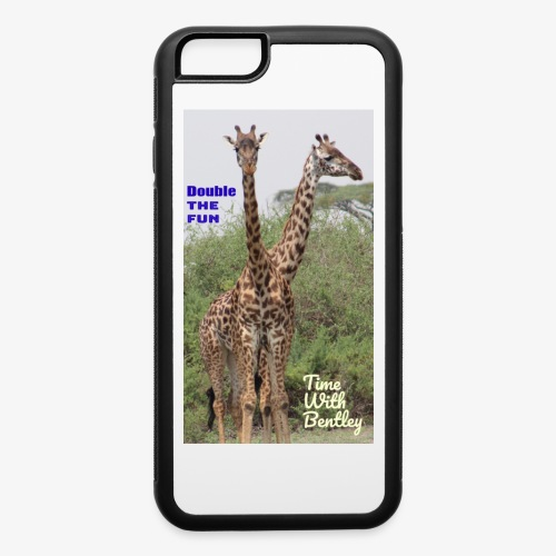 Two Headed Giraffe - iPhone 6/6s Rubber Case